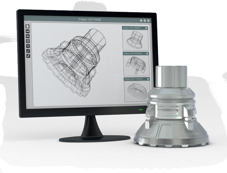 Image Alt Text: 3D CAD industrial product design modeling