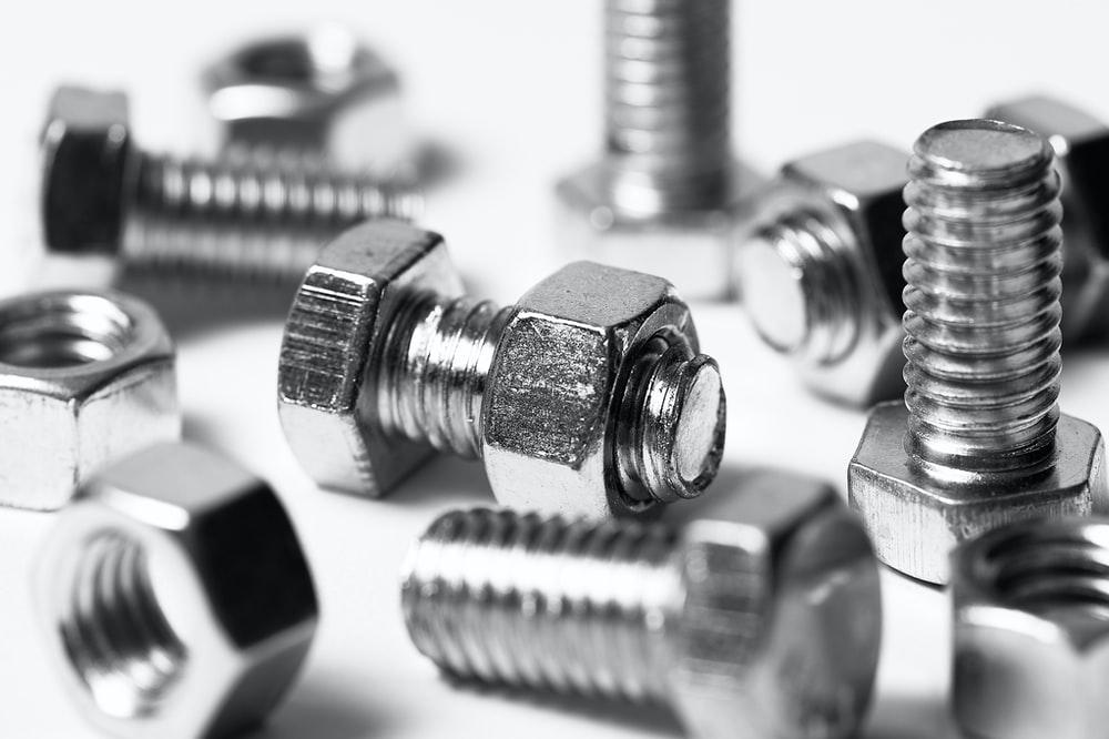 many small silver screws