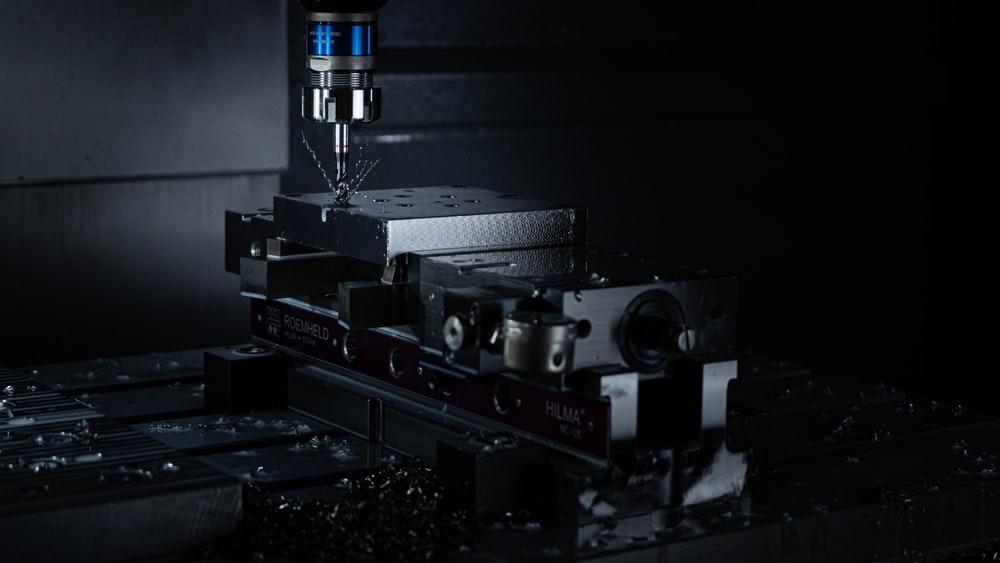 a CNC threading machine