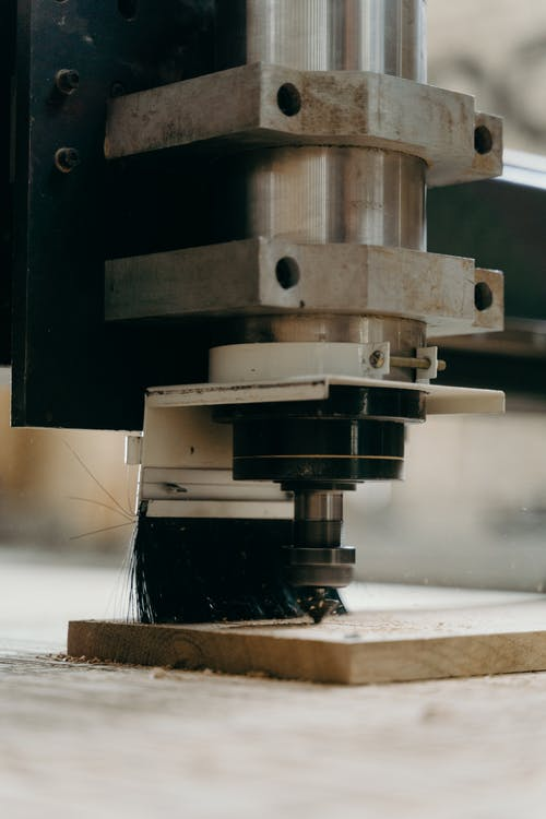 jigs and fixtures on a CNC machine